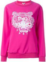 Kenzo 'Tiger' sweatshirt - women - Triacetate/Polyester - L