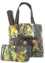 scarlettsbags Camo Camouflage Tote Purse Diaper Bag You Choose Color! Pink Orange or Black