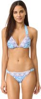 Nanette Lepore Seaside Tile Vixen Bikini Top