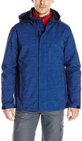 Izod Men's 3-In-1 Active Soft Shell Jacket with Removable Quilted Inner Jacket