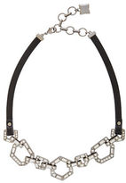 BCBGMAXAZRIA Hexagonal Plate Link Necklace