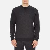 Derek Rose Men's Dorset 1 Sweatshirt Charcoal