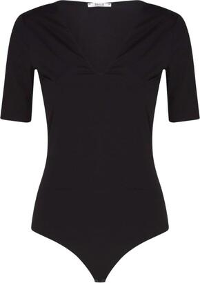 Wolford Vermont Short-Sleeve String Bodysuit