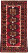 Ecarpetgallery eCarpet Gallery 133475 Hand-Knotted Baluch 3' x 6' 100% Wool Traditional Area Rug