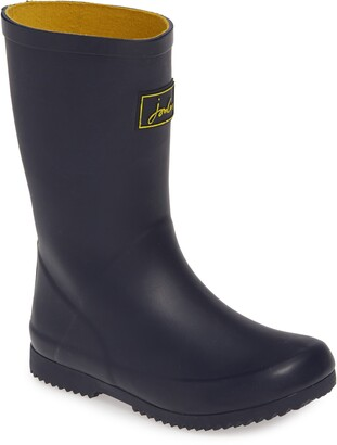Joules Roll Up Waterproof Rain Boot