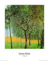 Gustav 1art1 Posters Klimt Poster Art Print - Orchard (20 x 16 inches)