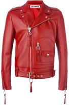 Off-White zip up biker jacket