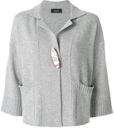 Cividini cropped cape cardigan - women - Cashmere - 42