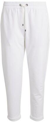 Brunello Cucinelli Cotton-Blend Sweatpants