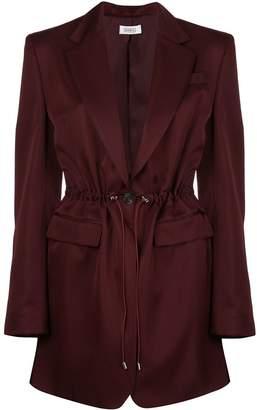 Nomia drawstring waist blazer