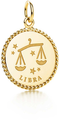 Tiffany & Co. Libra charm in 18k gold