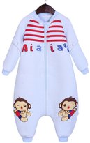 Aivtalk Toddlers Sleep Bag Infant Baby Soft Lovely Bear Sleep Sack Sleep Gown Bunting Bag