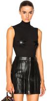 Givenchy Star Sleeveless Bodysuit in Black.