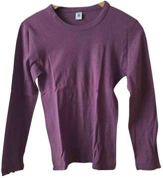 Petit Bateau Purple Cotton Top for Women