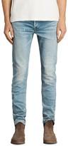 AllSaints Ide Rex Slim Fit Jeans in Indigo Blue