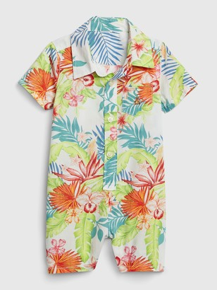 Gap Baby Floral Shorty One-Piece