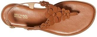 MICHAEL Michael Kors Flora Thong (Pale Gold) Women's Shoes