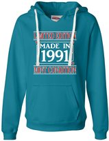 Go All Out Screenprinting Womens Made In 1991 Limited Edition Mint Condition Deluxe Soft Hoodie