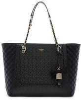 GUESS Marian Medium Quilted Tote