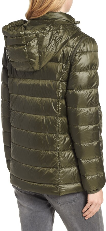 Thumbnail for your product : Modern Eternity Lightweight Puffer Convertible 3-in-1 Maternity Jacket