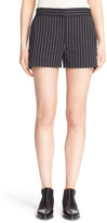 DKNY Pinstripe Cotton Shorts