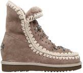 Mou 70mm Eskimo Embellished Shearling Boots