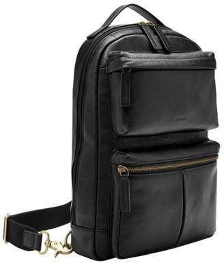 Fossil Buckner Sling Pack Bag Black