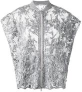 Brunello Cucinelli lace jacket - women - Silk/Linen/Flax/Polyamide - S
