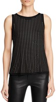Three Dots Studded Top