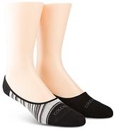 Cole Haan Town Stripe Liner Socks, Pack of 2