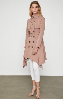 BCBGMAXAZRIA Brielle Long Trench Coat