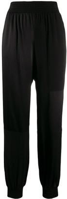 Pinko Straight Leg Elasticated Cuff Pants