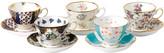 Royal Albert 100 Years Teacup & Saucer Set - 10 Piece - 1900-1940