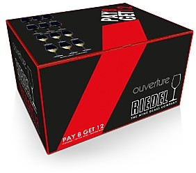 Riedel Ouverture Pay 8, Get 12 Wine Glasses Gift Pack