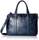 Fossil Baldwin Leather Navy Workbag