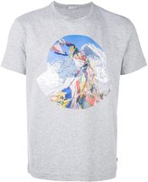 Moncler printed front T-shirt