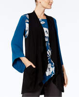 Alfani Draped Knit Vest, Created for Macy's