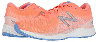 New Balance Fresh Foam 880 (Little Kid/Big Kid) (Tahitian Pink/Peach Soda) Girls Shoes