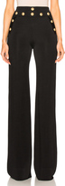 Balmain Wide Leg Pants