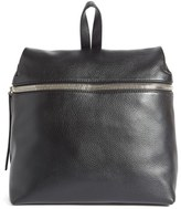 Kara Leather Backpack - Black