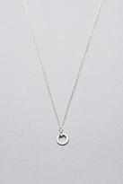 Mini Karma Necklace in Silver