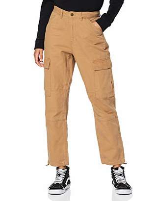 Only Women's 15188883 Trouser, Tobacco Brown, One (Size: 40)