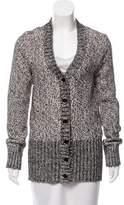 Lanvin Metallic Knit Cardigan w/ Tags