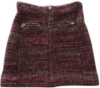 Isabel Marant Red Wool Skirt for Women