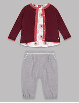 Autograph 3 Piece Pure Cotton Outfit