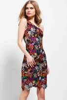Jovani 51562 Multi Butterfly Embroidered Short Dress