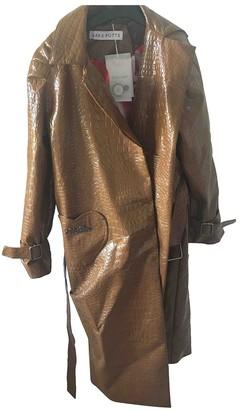 Saks Potts Brown Coat for Women