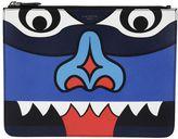Givenchy Totem Print Clutch
