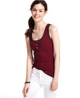 Tommy Hilfiger Striped Ribbed Tank Top