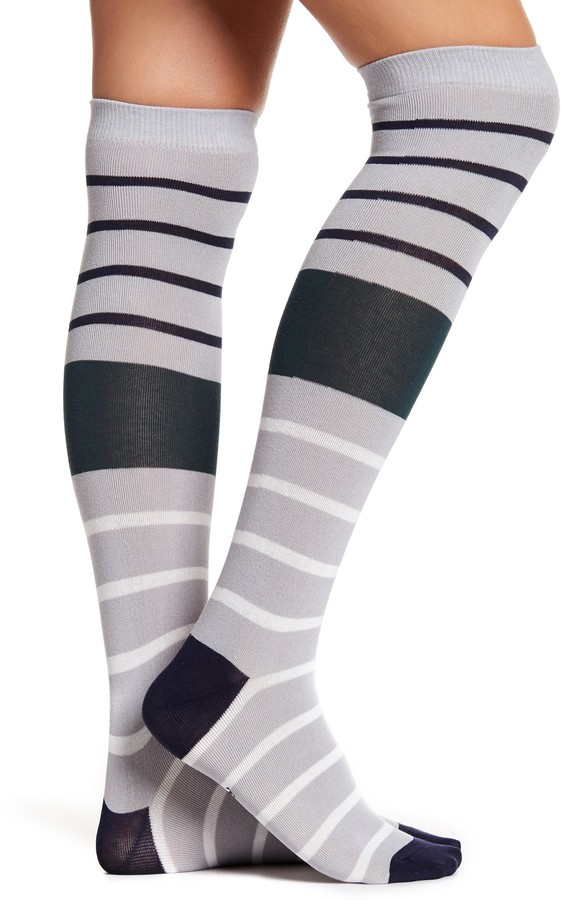 Timberland Striped Knee-High Socks - Pack of 2